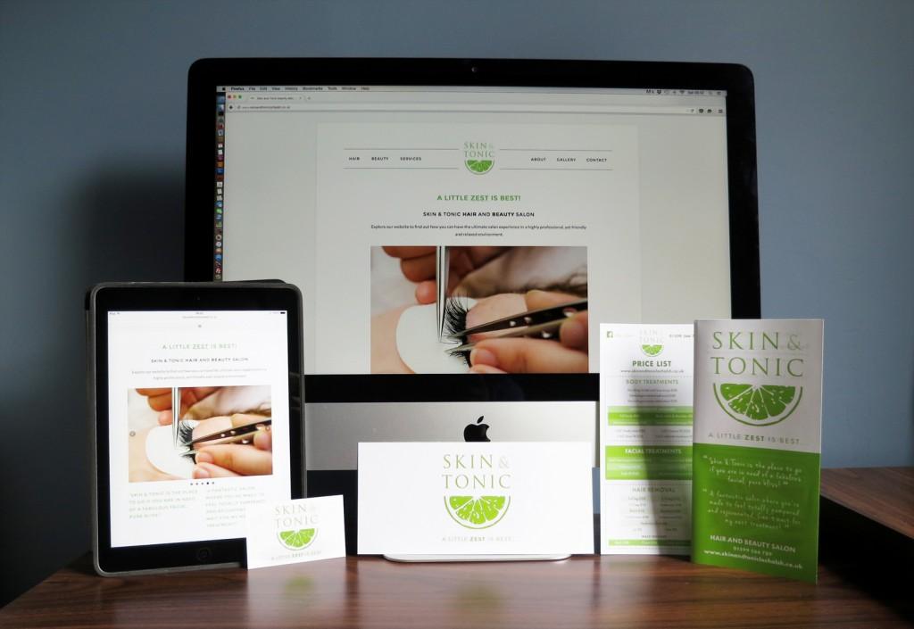 Rebranding for Skin and Tonic