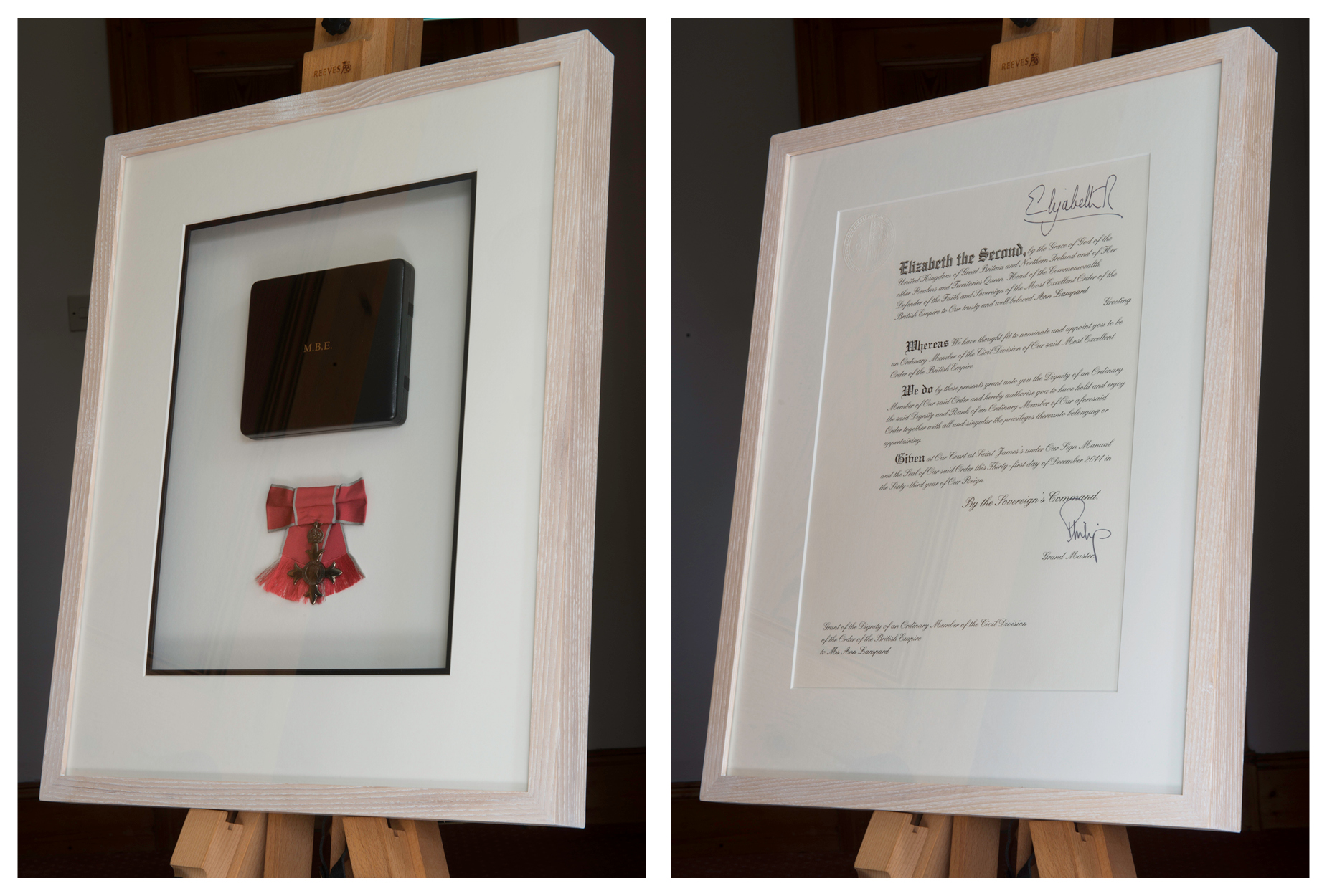 Bespoke box picture framing for treasured objects and certificates custom picture framing for mbe jeuxipadfo Choice Image