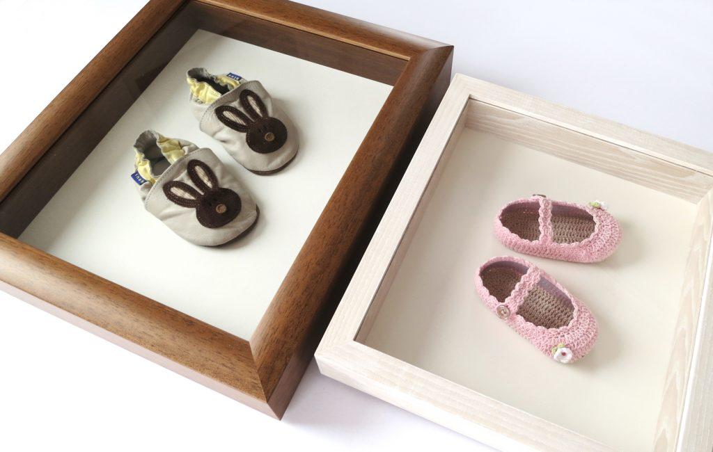 Box frame shoes