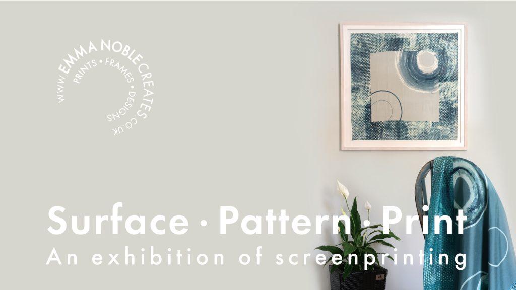 Exhibition of screenprinting Emma Noble
