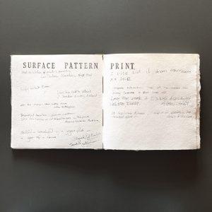 Exhibition comments book
